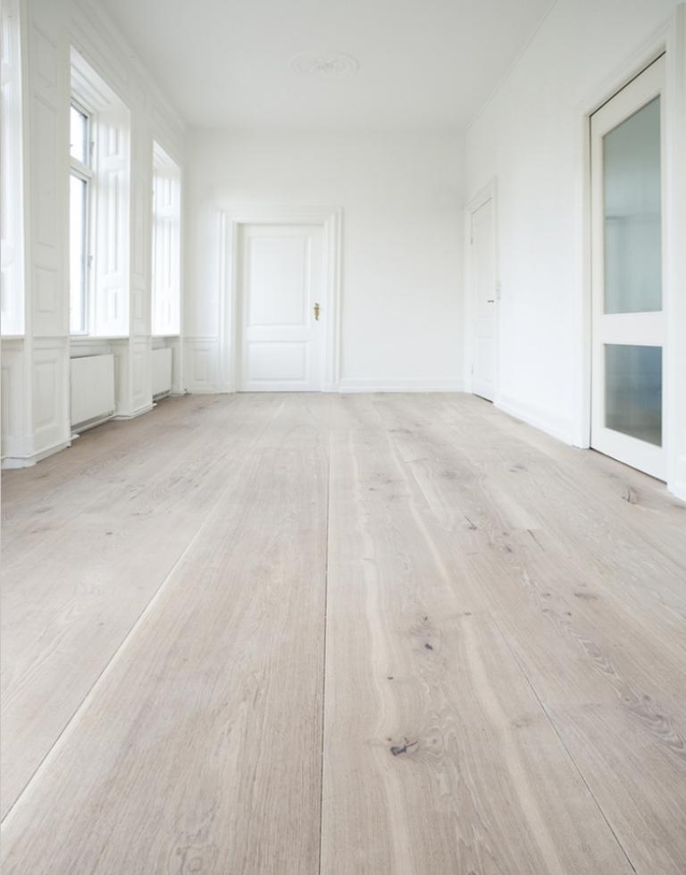 Yes, You Can Whitewash Darker Toned Hardwood Flooring