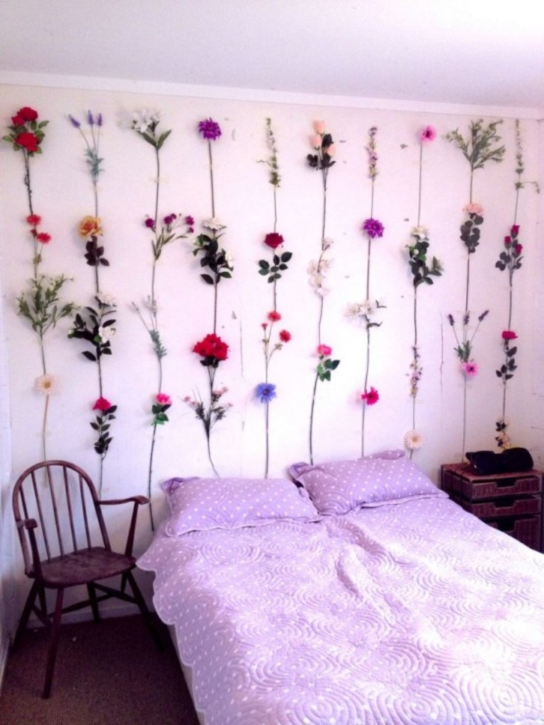 DIY spring room decor ideas