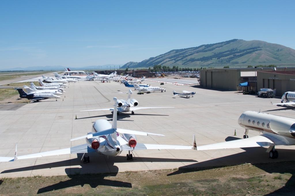 Jackson Hole Airport, Jackson Hole, Wyoming