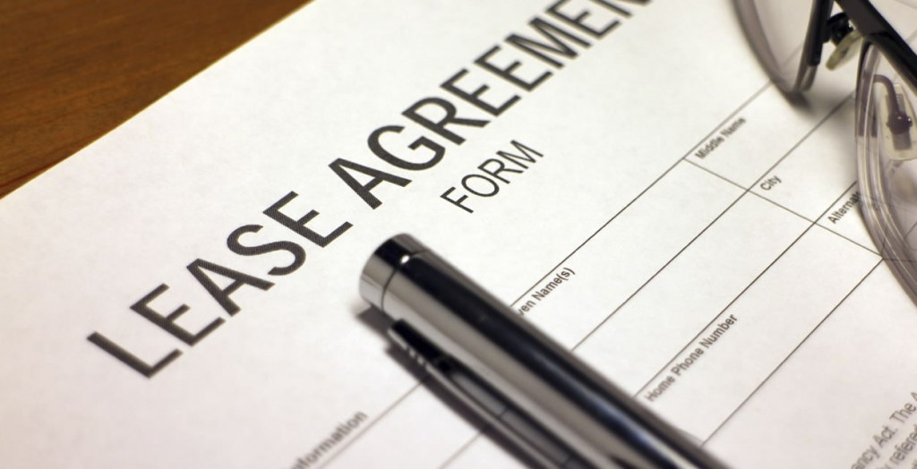 The lease agreement should cover the standard provisions