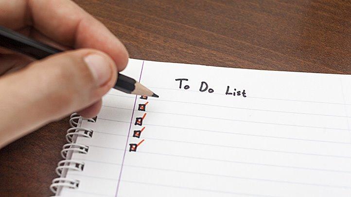Make a Nightly Checklist