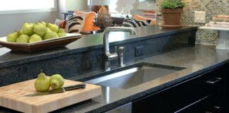 kitchen sink and faucet design