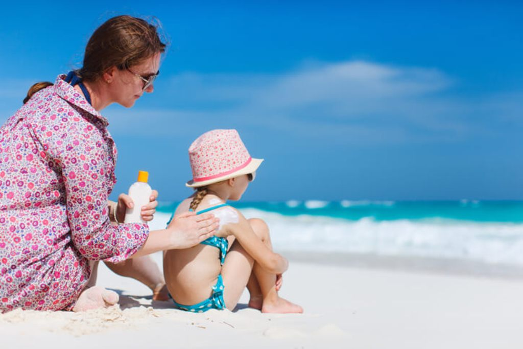 Children's Skin is Extremely Sensitive and Needs Sun Protection