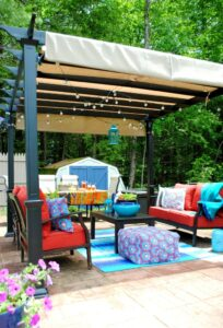 How Do You Create an Outdoor Living Space on a Budget?
