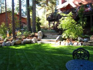 Lake Tahoe Lawn And Landscape Care In Spring