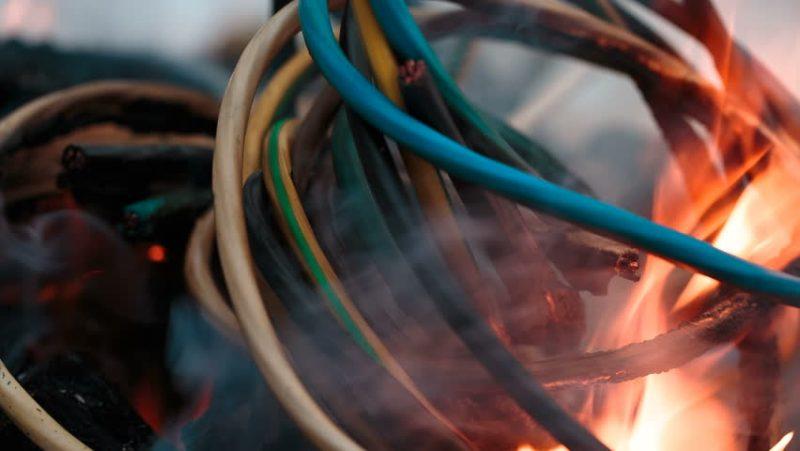 Burning Electrical