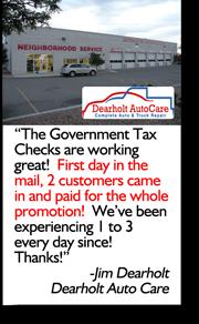 Dearholt Auto Testimonial