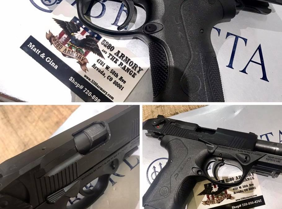 Beretta PX4 .40S&W 3.2″ Black Excellent Arvada CO SOLD