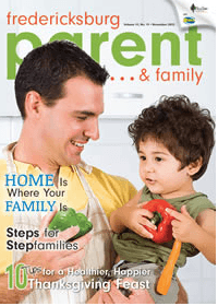 Fredericksburg Parent & Family magazine - Nov 2012