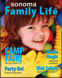 Sonoma Family Life magazine - March 2017