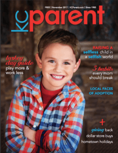 KC Parent magazine - Nov 2017