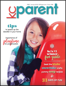 KC Parent magazine - Jan 2018