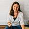Sarrah Chapman Photo - Smiling and holding totem