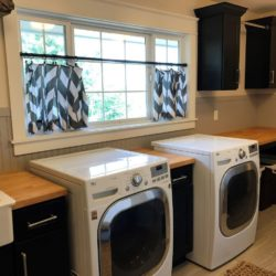 Laundry room in Country home
