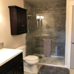Beautifully remodeled bathroom