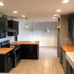 Big Kitchen in remodeled home