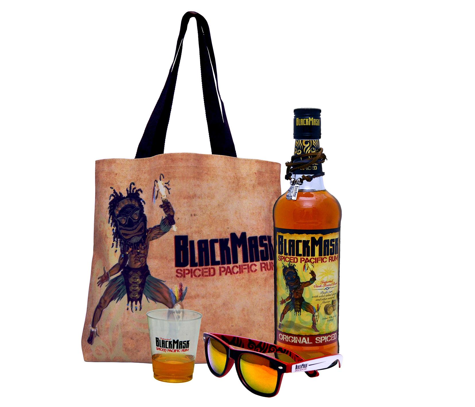 Black Mask Rum Merchandise