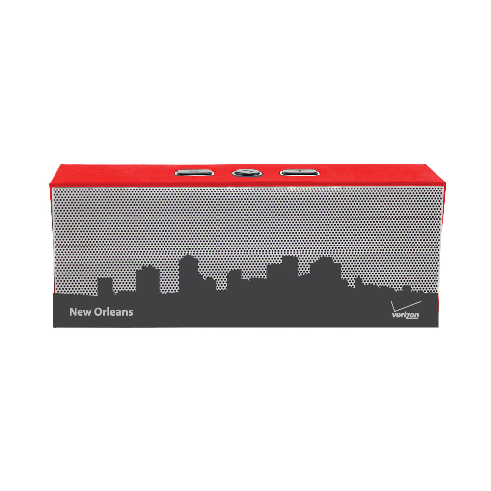 Verizon Wireless Blue Tooth Cityscape Speaker