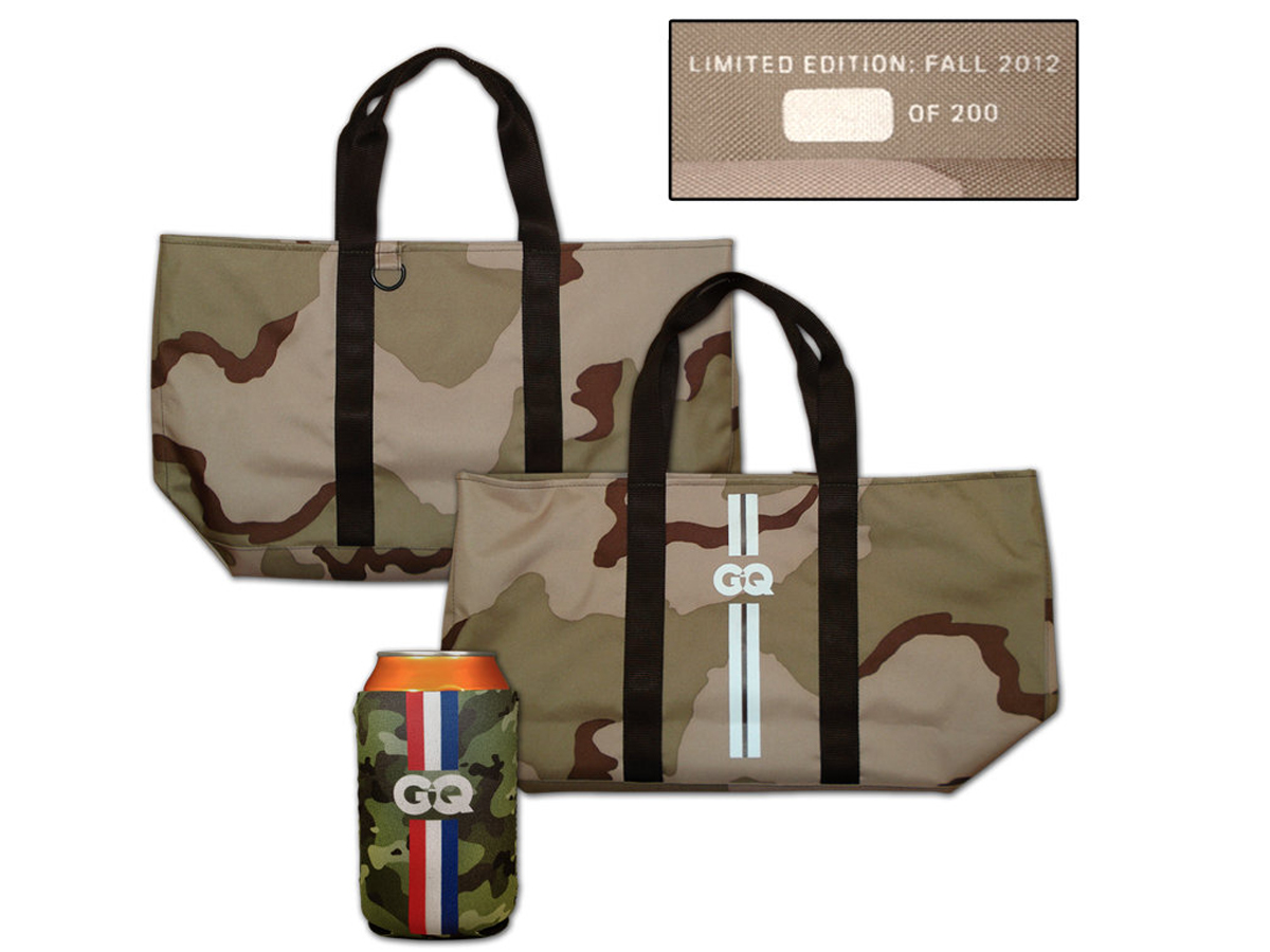 GQ Tote Bags & Drink Coolers