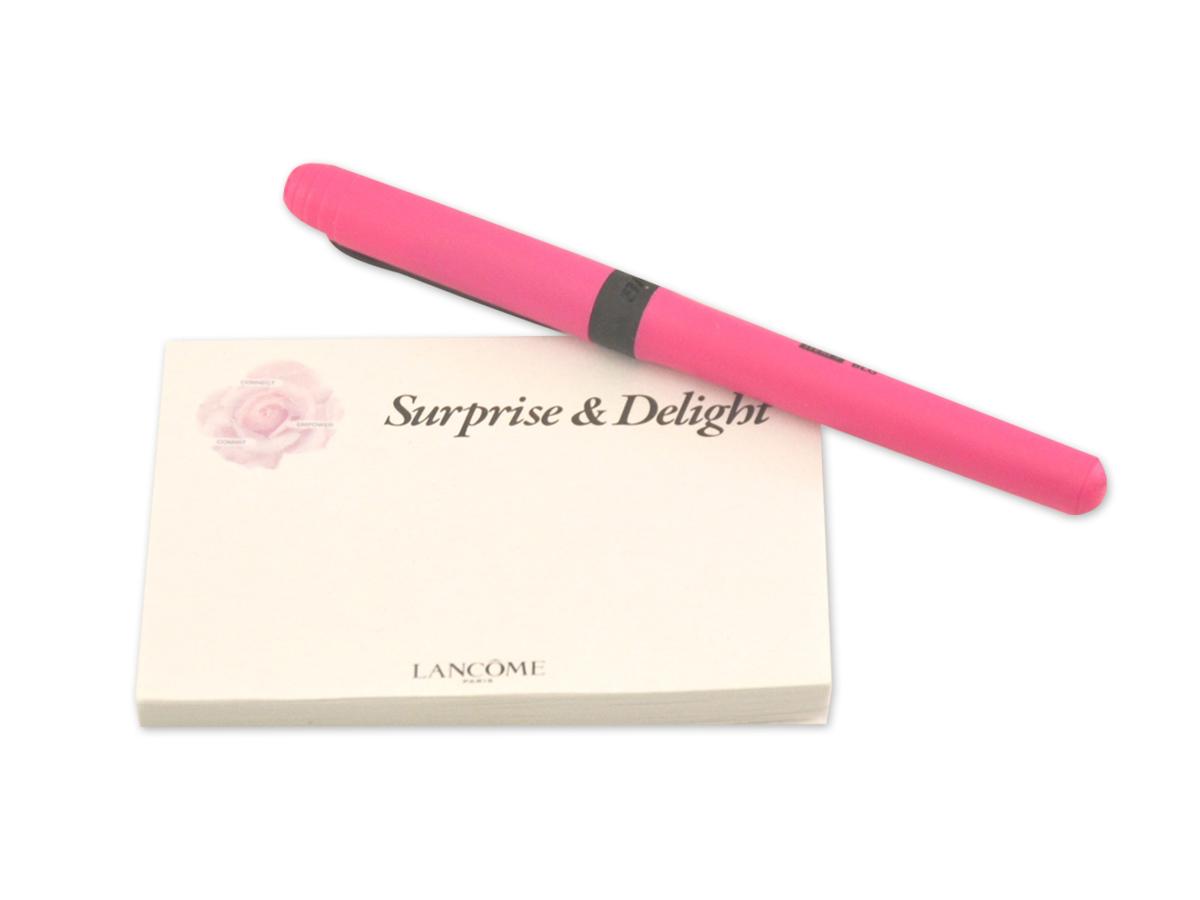 Lancome Sticky Notes & Pen