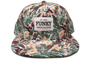 Funky Floral Snapback Hat