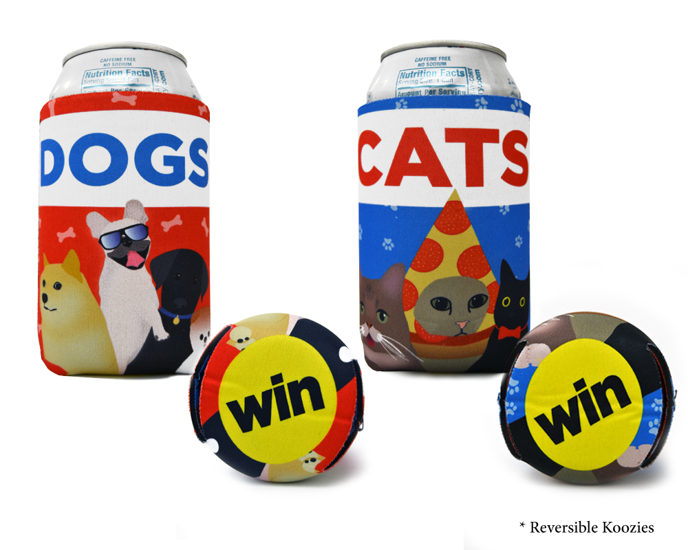 BuzzFeed Reversible Can Cooler