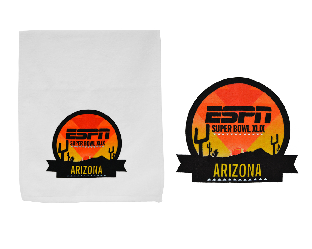 ESPN Super Bowl Towels