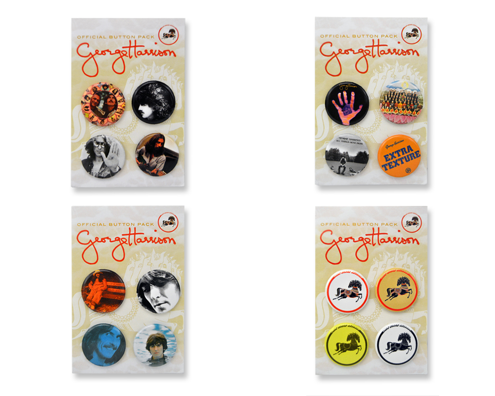 George Harrison – The Official Button Pack