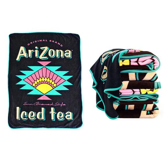 Arizona Iced Tea MicroFiber Soft Touch Blanket