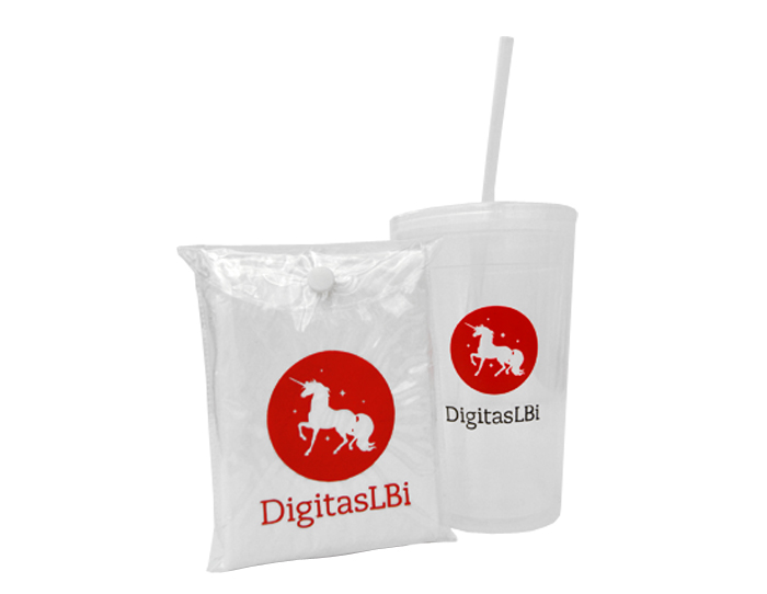 Digitas Poncho and Tumbler for SXSW