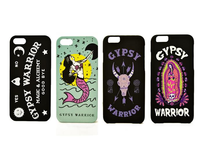 Gypsy Warrior Phone Cases