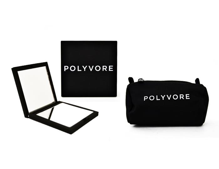 Polyvore Compact Mirror Set