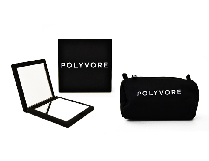 Polyvore Compact Mirror Set