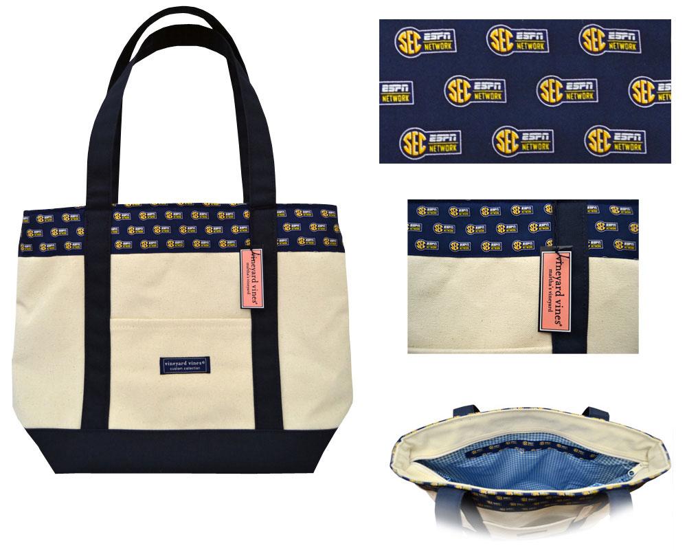 SEC Custom Vineyard Vines Tote Bag
