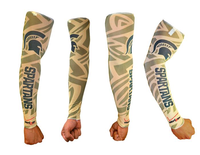 Verizon & Michigan State Spartans Spirit Sleeve