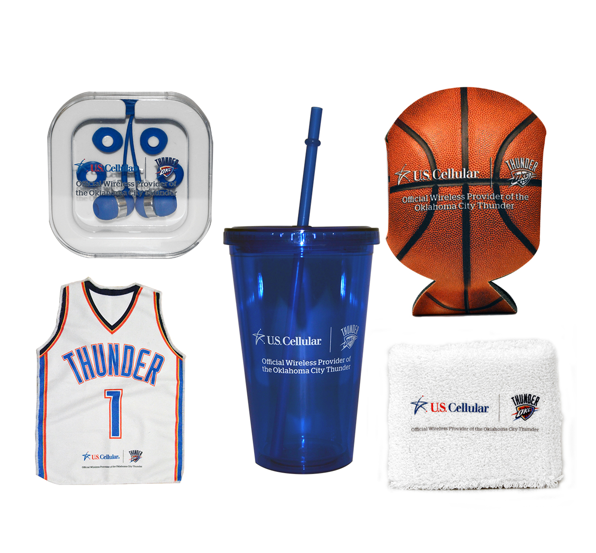 US Cellular + OKC Thunder Promo Merch