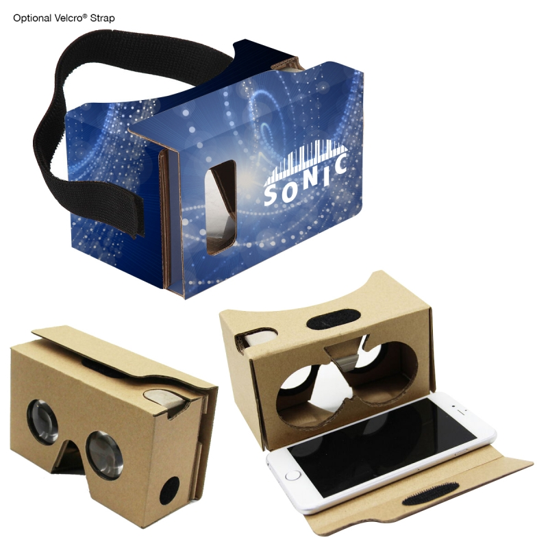 Custom Cardboard Virtual Reality For Your Company!