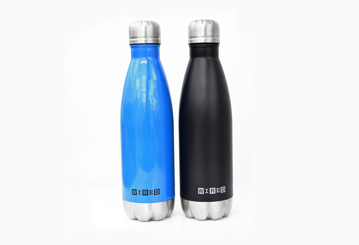 Wire Magazine Water Bottles