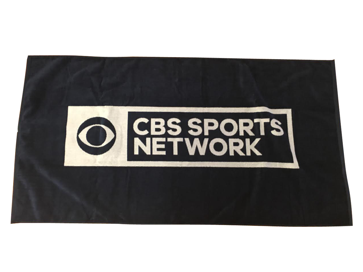 CBS Sports Network Woven Towel
