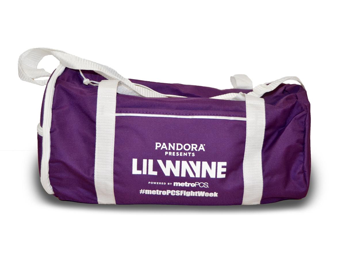 Pandora Presents Lil Wayne Concert Duffel