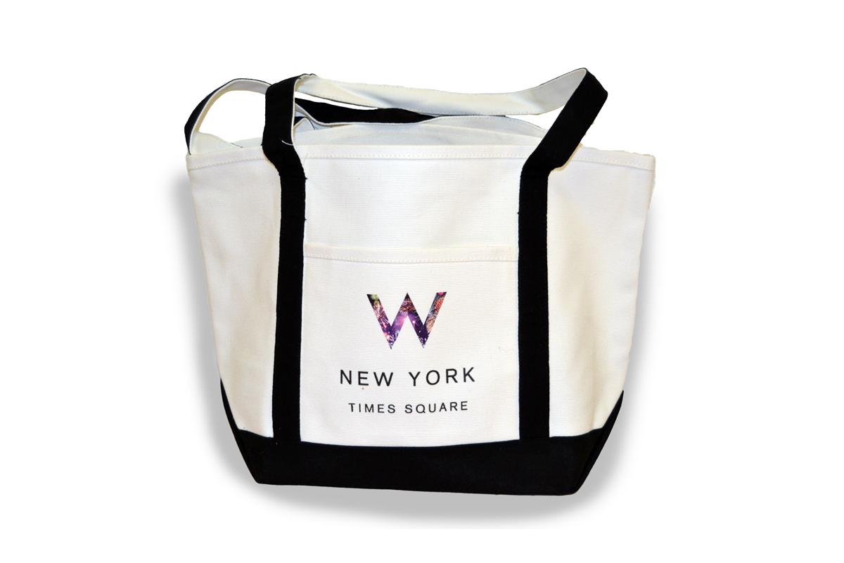 W Hotel Times Square Tote Bag
