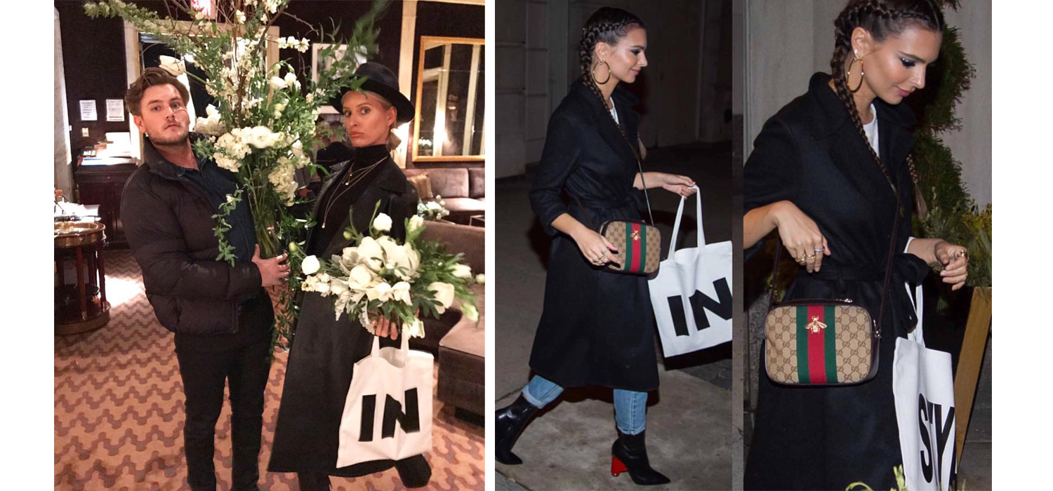 #CreatedByCaptiv8: Custom Tote Bags for InStyle Magazine's March Issue Party!
