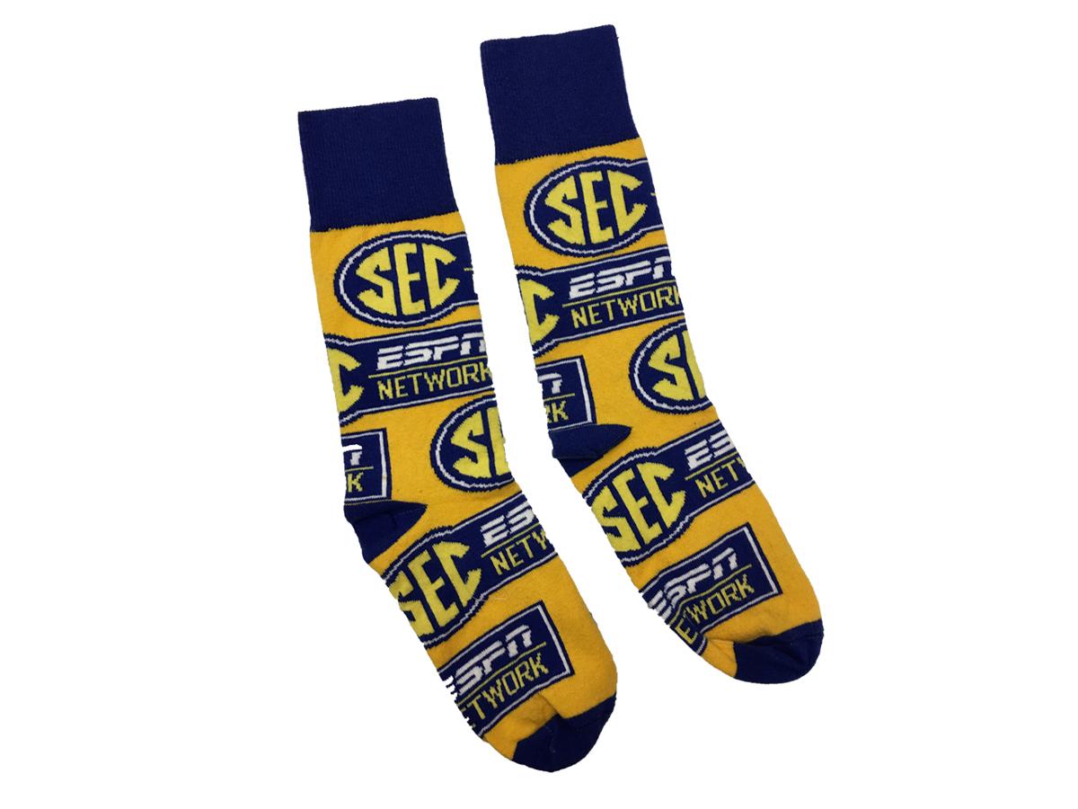 SEC ESPN Network Socks