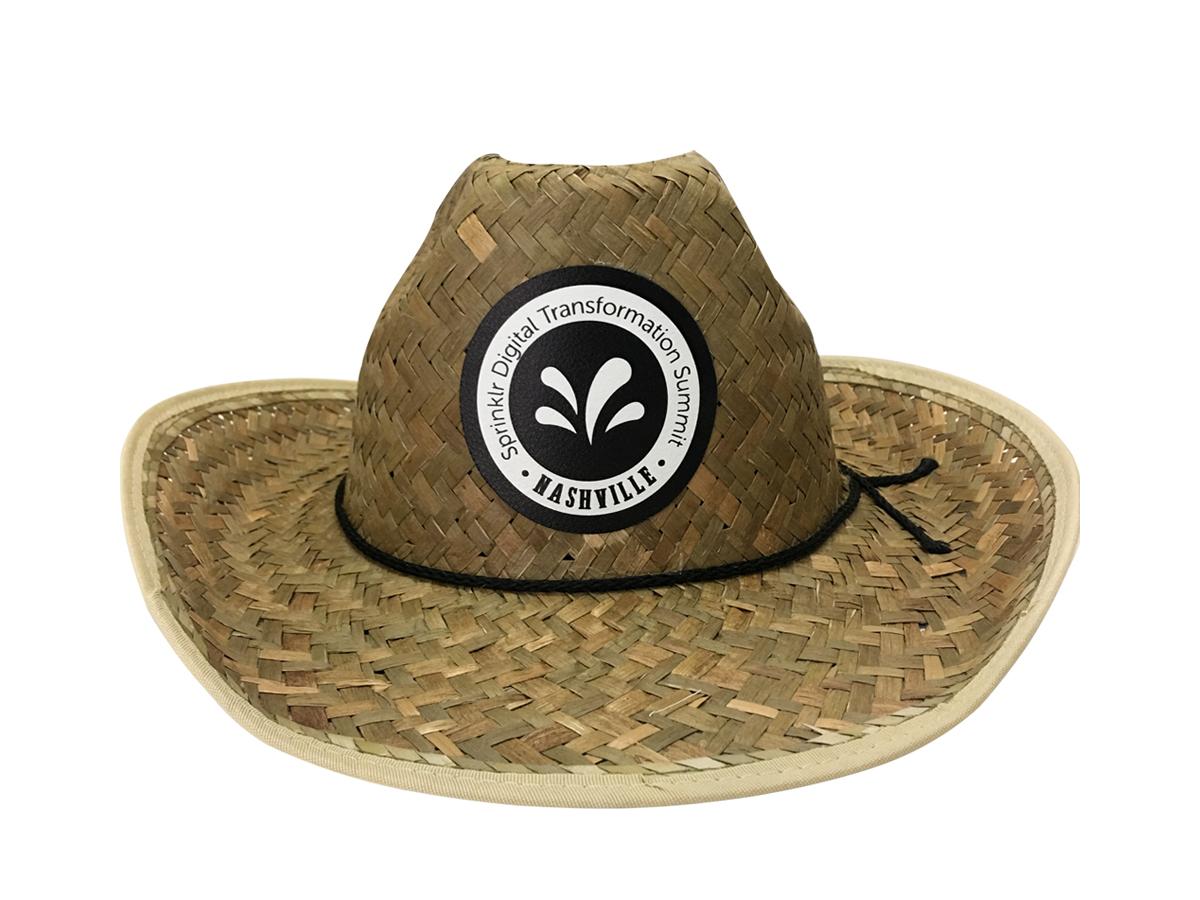 Sprinklr Straw Hat