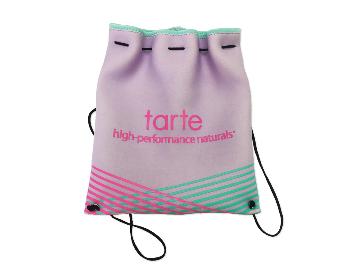 Tarte Cosmetics Drawstring Bag