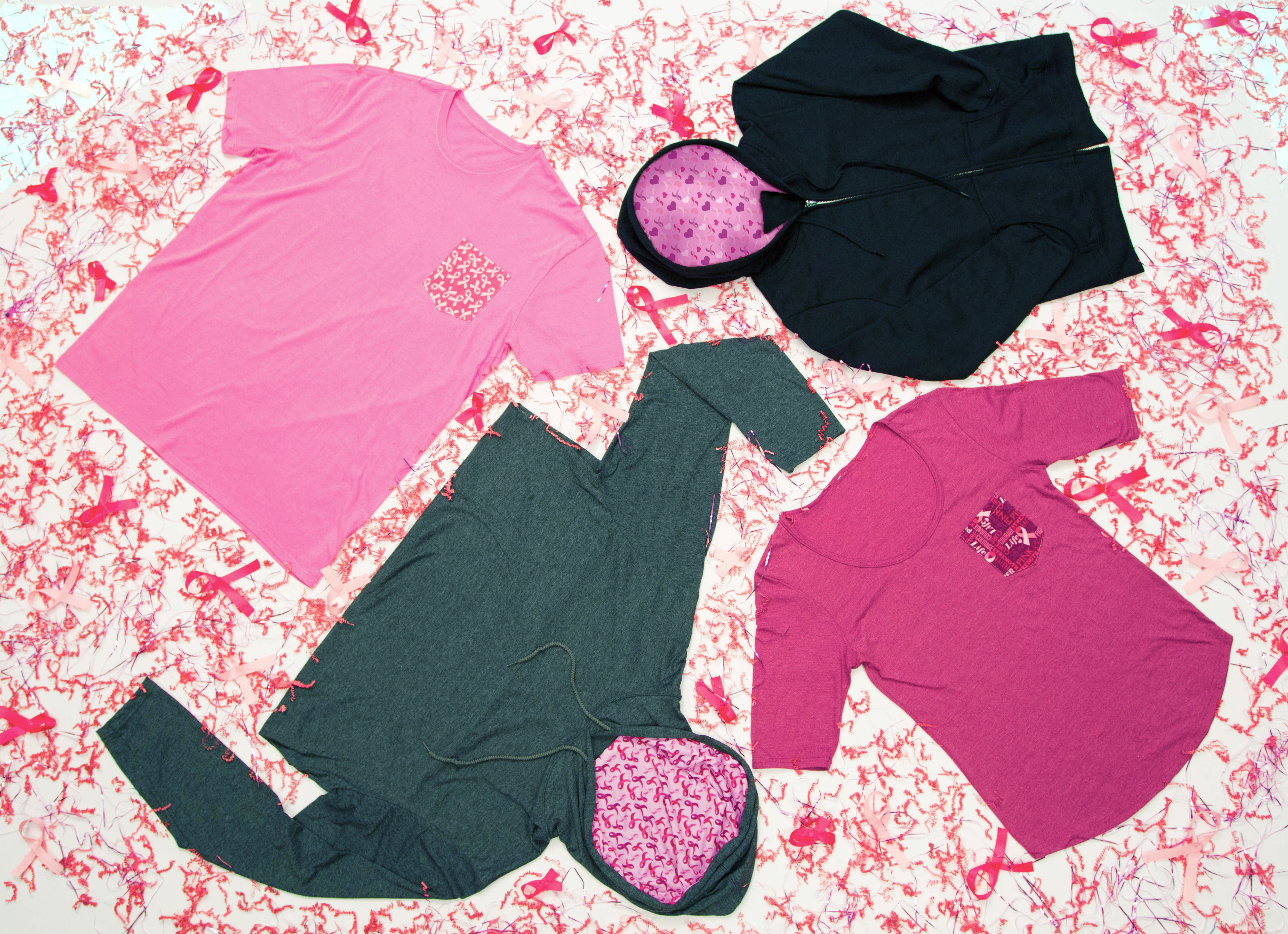Support Breast Cancer Awareness Month with Custom Apparel!