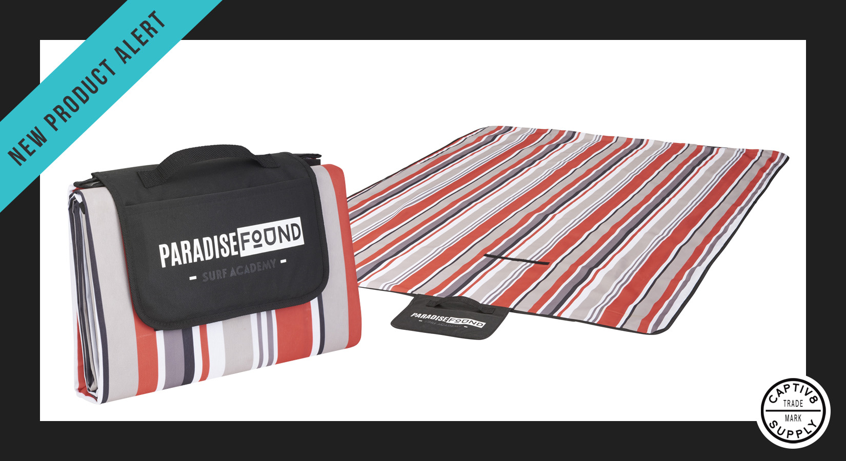 *New Product Alert* – Oversized Striped Picnic and Beach Blanket