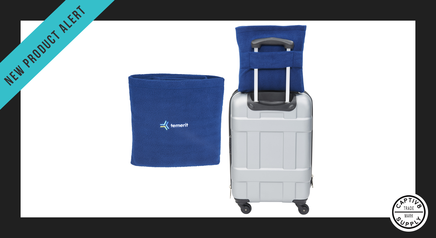 *New Product Alert* – 2-in-1 Carry-On Travel Blanket and Pillow
