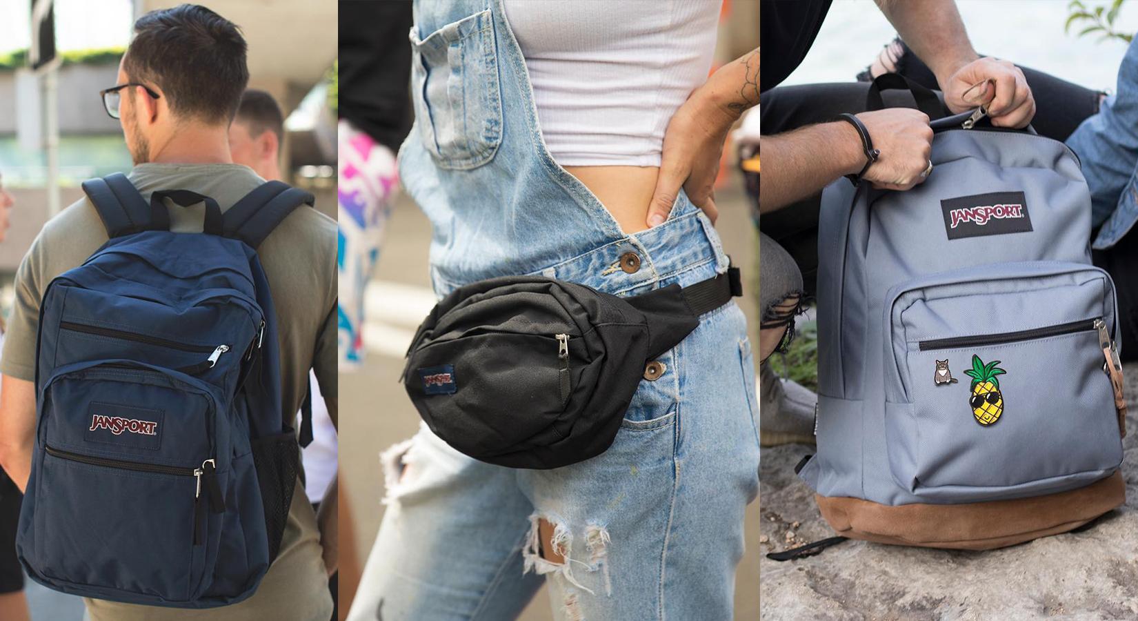 Custom JanSport® Backpacks – A Classic Favorite!