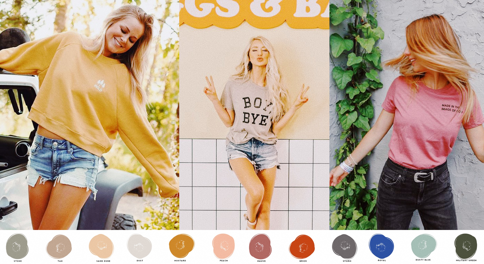 2020 Fall Color Report with New Bella+Canvas Arrivals to Match